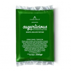 Ζαχαρόπαστα Sugarlicious Πράσινο Γρασιδιού 250γρ