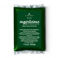 Ζαχαρόπαστα Sugarlicious Πράσινο Χριστουγέννων 250γρ