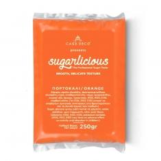 Ζαχαρόπαστα Sugarlicious Πορτοκαλί 250γρ