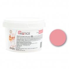 Ροζ Βαπτιστικό Ζαχαρόπαστα SmartFlex Velvet 0.7κ. - Βανίλια