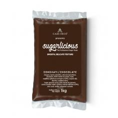 Ζαχαρόπαστα Sugarlicious Σοκολατί 1κ.