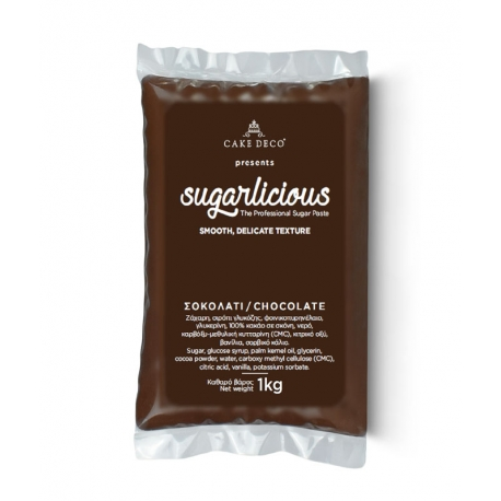 Sugarlicious Sugar Paste ready to Roll Choco 1kg.