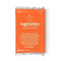 Sugarlicious Sugar Paste ready to Roll Orange 1kg.