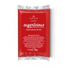 Ζαχαρόπαστα Sugarlicious Κόκκινο 1κ.