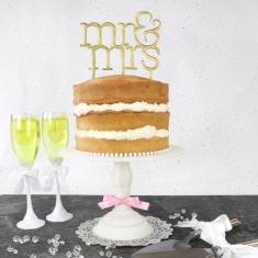 Κουπάτ για Mr&Mrs Topper σε Μοντέρνα Γραμματοσειρά