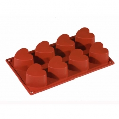 Heart Multiportion Mold