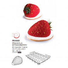 Strawberry Tuttifrutti Mould