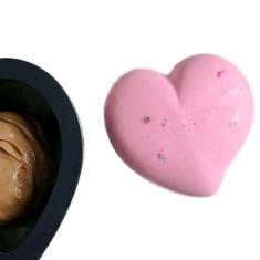 Πάθος - Μικρό Καλούπι σιλικόνης Καρδιά Pavoflex Professional ~350ml