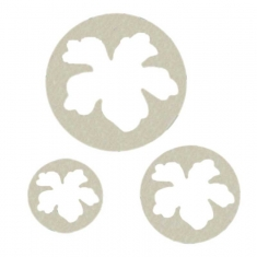 Hawaiian Flower set of 3