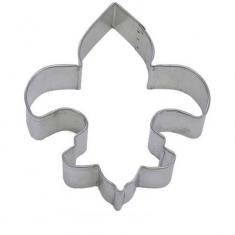 Fleur De Lis Metallic Cookie Cutter 4,5in (11,4cm)