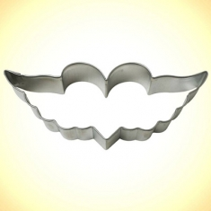 Heart with Wings Cookie Cutter 4.75 (12cm)