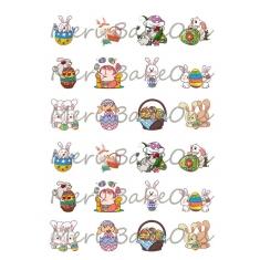 Various Easter designs - Meri BakeOns Meringue Design Baking Sheets