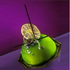 Καθρέπτης φρούτων γεύση-χρώμα Διάφανο 1κ. Clear Mirror Glaze