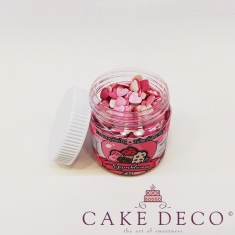 Sprinklicious Μιξ ΖεστοΚαρδούλες  (Γυαλιστερό Λευκό-Ροζ-Φούξια) 50γρ