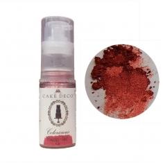 Μετεωρίτης Κόκκινο Μεταλλικό Σπρέι Σκόνης 4γρ Coloricious