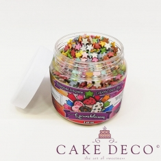Sprinklicious Colorful Stars Mix 9mm 140g