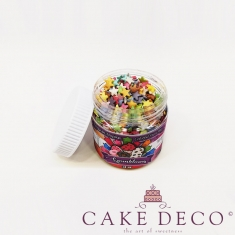 Sprinklicious Colorful Stars Mix 9mm 50g