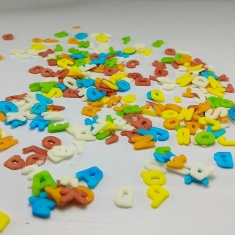 Sprinklicious alphabet Sprinkles Color Mix 1kg