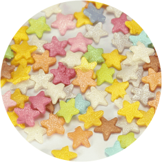 Sprinklicious Colorful Stars Mix 9mm 1kg.
