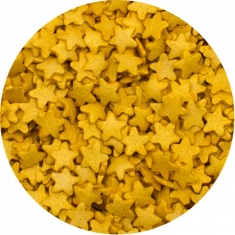 Sprinklicious Mini Gold Stars 1kg 8mm