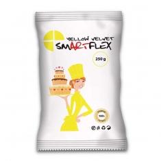 Κίτρινη Ζαχαρόπαστα SmartFlex Velvet 250γρ. - Βανίλια