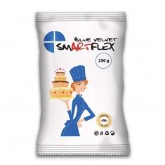 Μπλε Ζαχαρόπαστα SmartFlex Velvet 250γρ. - Βανίλια