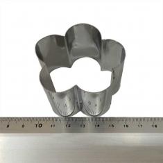 Flower Inox Cookie Cutter -Semifreddo 5,5xH4cm.