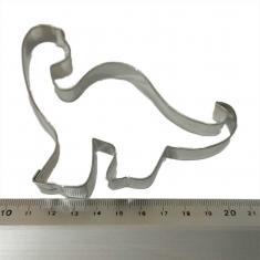 Brontosaurus Inox Cookie Cutter 10,5x8cm.