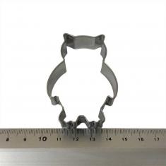 Κουκουβάγια Inox Κουπάτ Μπισκότου 6,2x4,2εκ.