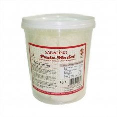 White Modeling Paste By Saracino 1Kg