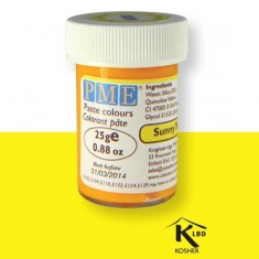 Sunny Yellow - PME Paste Colour