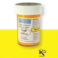 Χρώμα Πάστας της PME - Κίτρινο