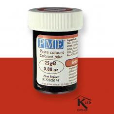 Χρώμα Πάστας της PME - Κόκκινο του Τούβλου