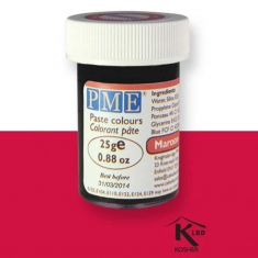 Χρώμα Πάστας της PME - Σκούρο Κόκκινο