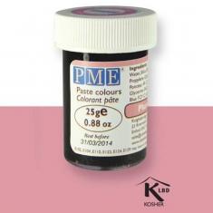Χρώμα Πάστας της PME - Ροζ της Βανίλιας