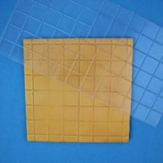 Small Square Design Impression Mat