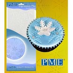 Snowflake Design Impression Mat