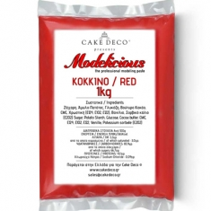Modelicious Red Modeling Paste 1kg