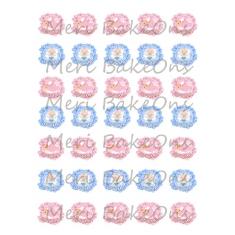 My Christening - Meri BakeOns Meringue Design Baking Sheets