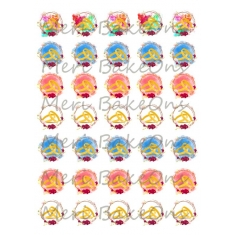 Βέρες - Meri BakeOns Φύλλο για Mαρεγκάκια