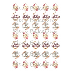 Πάθος - Meri BakeOns Φύλλο για Mαρεγκάκια
