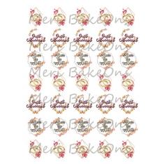 Passion - Meri BakeOns Meringue Design Baking Sheets