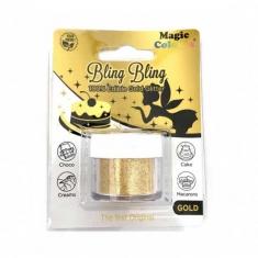 Super Gold Edible Glitter by Magic 10gr