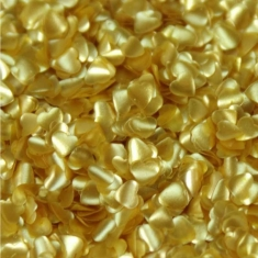 Metallic Gold Edible Hearts by Rainbow Dust 1,4g
