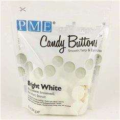 PME Candy Buttons - Bright White Vanilla (10oz)