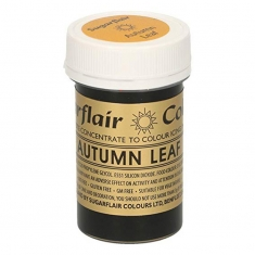 Autumn Leaf Sugarflair Spectral Concentrated Paste Colour 25g