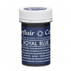 Βασιλικό Μπλε Συμπυκνωμένο Χρώμα πάστας για αποχρώσεις της SugarFlair 25γρ