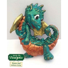 Little Dragon Silicone Mould by Katy Sue