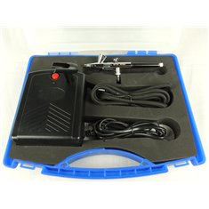 Airbrush set  with Compressor + airbrush  0,2mm + hose