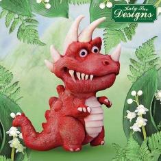 Τυραννόσαυρος Ρεξ Δεινόσαυρος - Καλούπι Σιλικόνης της Katy Sue
